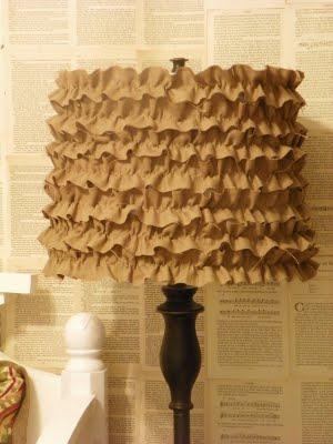 diy-ruffle-lamp-shade