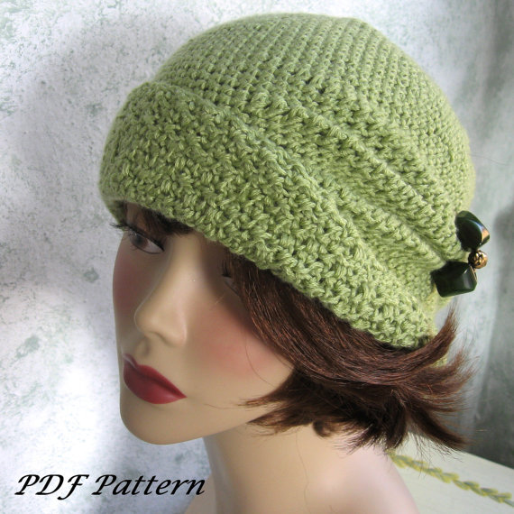 Crochet Hat Pattern Cloche : Downton Abbey Inspired Crochet Hats