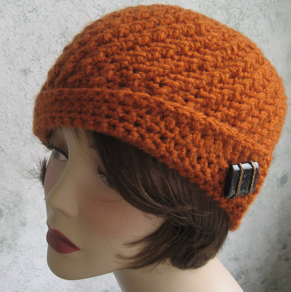 Crochet Hat Pattern Cloche : Gallery For > Crochet Cloche Hat Pattern Free