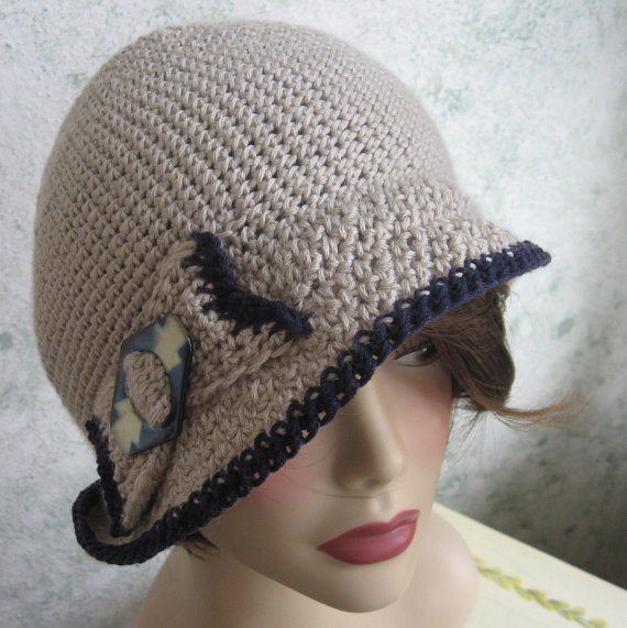Downton Abbey Inspired Crochet Hats